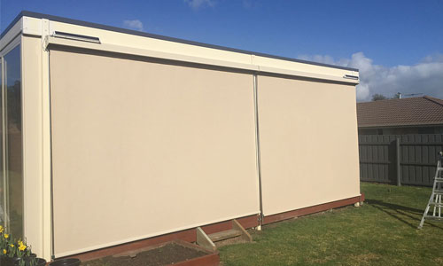 Outdoor Screen Panels